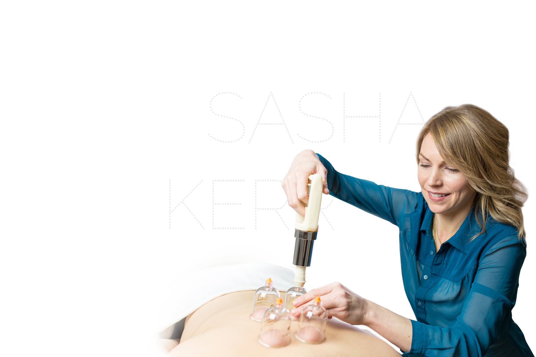 Sascha Kerr, RMT offering Massage Therapy